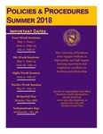 UNI Schedule of Classes, Summer 2018 by University of Northern Iowa