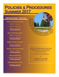 UNI Schedule of Classes, Summer 2017 by University of Northern Iowa
