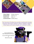 UNI Schedule of Classes, Spring 2015 by University of Northern Iowa