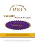 UNI Schedule of Classes, Fall 2012