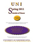 UNI Schedule of Classes, Spring 2011 by University of Northern Iowa