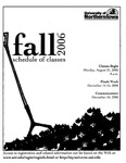 UNI Schedule of Classes, Fall 2006 by University of Northern Iowa