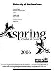 UNI Schedule of Classes, Spring 2006