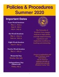 UNI Schedule of Classes, Summer 2020 by University of Northern Iowa