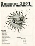UNI Schedule of Classes, Summer 2001 by University of Northern Iowa