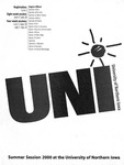 UNI Schedule of Classes, Summer 2000