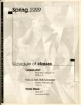 UNI Schedule of Classes, Spring 1999