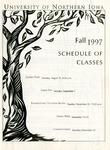 UNI Schedule of Classes, Fall 1997
