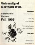 UNI Schedule of Classes, Fall 1995