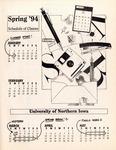 UNI Schedule of Classes, Spring 1994