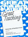 UNI Schedule of Classes, Summer 1993