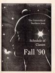 UNI Schedule of Classes, Fall 1990