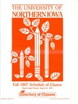 UNI Schedule of Classes, Fall 1987 by University of Northern Iowa