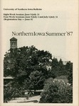 UNI Schedule of Classes, Summer 1987 by University of Northern Iowa