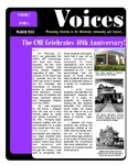 VOICES Newsletter, v7n4, March 2011