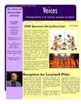 VOICES Newsletter, v7n2, November 2010 by University of Northern Iowa. Center for Multicultural Education.