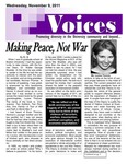 VOICES Newsletter, November 2011 by University of Northern Iowa. Center for Multicultural Education.