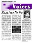 VOICES Newsletter, November 2011