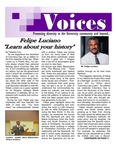 VOICES Newsletter, v8n1, October 2011 by University of Northern Iowa. Center for Multicultural Education.