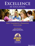Excellence in Education, Winter 2007-08 by University of Northern Iowa. College of Education