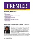 Premier, Fall 2017 by University of Northern Iowa. College of Education.