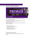 Premier, Fall 2020 by University of Northern Iowa. College of Education.