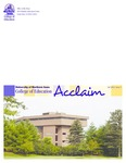 COE Acclaim, Fall 2012, Issue 5