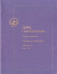 Spring Commencement, Graduate Ceremony [Program], May 9, 2014