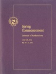 Spring Commencement [Program], May 10 & 11, 2013