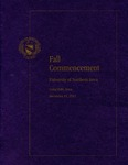 Fall Commencement [Program], December 15, 2012