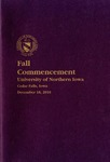 Fall Commencement [Program], December 18, 2010