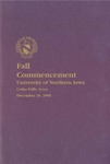 Fall Commencement [Program], December 20, 2008