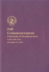 Fall Commencement [Program], December 16, 2006