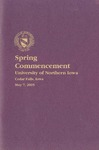 Spring Commencement [Program], May 7, 2005