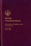 Spring Commencement [Program], May 10 & 11, 2002