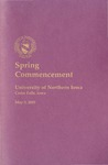 Spring Commencement [Program], May 5, 2001