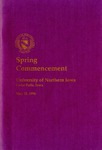 Spring Commencement [Program], May 11, 1996