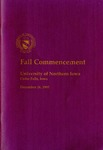 Fall Commencement [Program], December 16, 1995