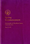 Spring Commencement [Program], May 13, 1995