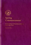 Spring Commencement [Program], May 14, 1994