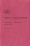 Spring Commencement [Program], May 11, 1991