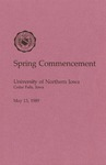 Spring Commencement [Program], May 13, 1989