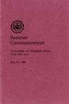 Summer Commencement [Program], July 29, 1988