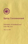 Spring Commencement [Program], May 19, 1979