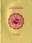 Spring Commencement [Program], May 13, 1978