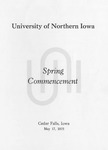 Spring Commencement [Program], May 17, 1975