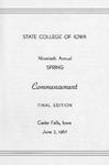 Spring Commencement [Program], June 2, 1967