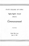 Spring Commencement [Program], June 4, 1965