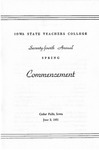 Spring Commencement [Program], June 2, 1951