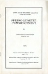 Spring Quarter Commencement [Program], June 2, 1941